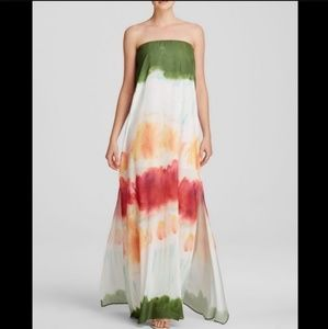 Alice and Olivia Yulissa Watercolor dress